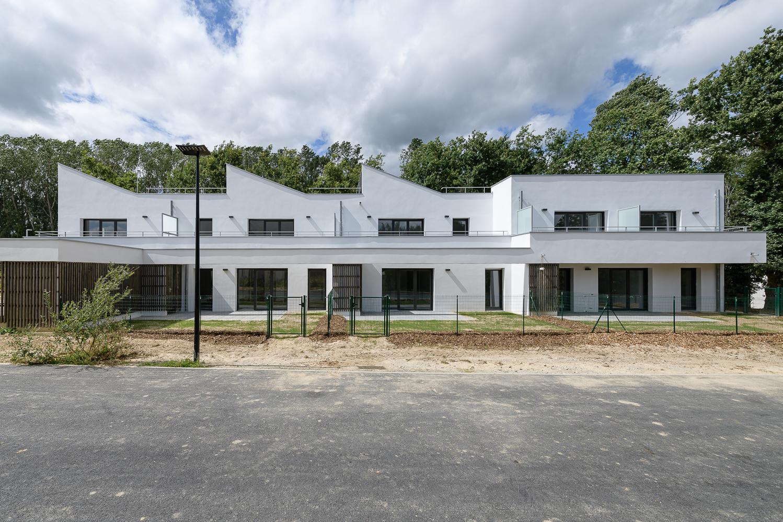 O+P architectes, logements,  Cintré, 35.