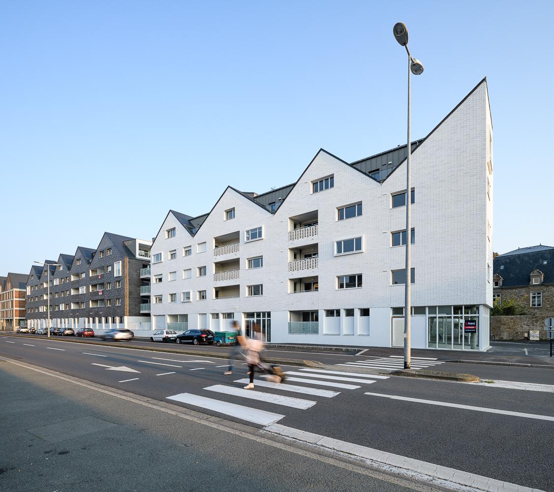Paumier Architectes Associés, logements collectifs, CatWay, St Malo (35)