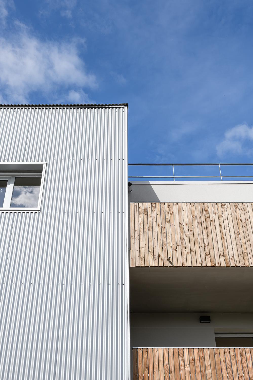 photographe d'architecture ©INTERVALphoto : Paumier Architectes Associés, logements collectifs, Bocage citadin, ZAC Rives du Blosne, Chantepie (35)