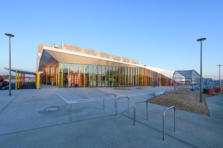 photographe d'architecture ©INTERVALphoto : TLR Architecture, CCA, CHU la Cavale Blanche, Brest (29)