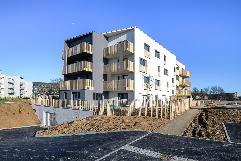 Atelier L2, logements, M.A.M, ZAC de la Trémelière, Le Rheu (35)