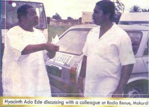(L-R) Flashback to  Radio Benue