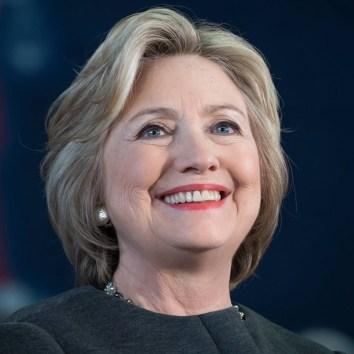 Aspiring leader Hilary Clinton