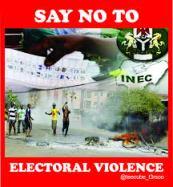 INEC and mitigation through conscientisation