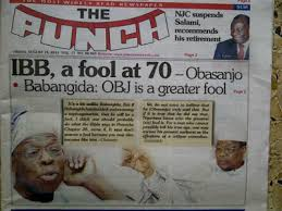 Nigerian Elite: On the Path of Reconciliation or of Mutual Assured Destruction, (MAD)?