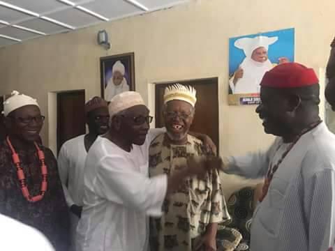 Prof Ango Abdullahi Hosts Igbo Leaders in Zaria