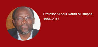 Dr Yusuf Bangura Pays Tribute to Prof Abdul Raufu Mustapha