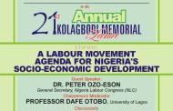 Foundation Announces 21st Annual Kolagbodi Lecture