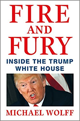 Donald Trump Burns in Fire and Fury of a Book