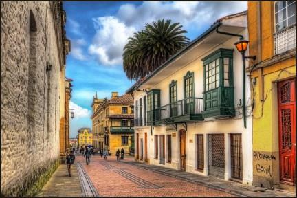 Bogotá colonial. Colombia. szeke
