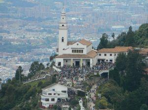 Ermita de Monserrate. Colombia