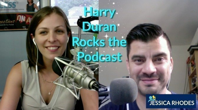 Harry Duran Rocks the Podcast