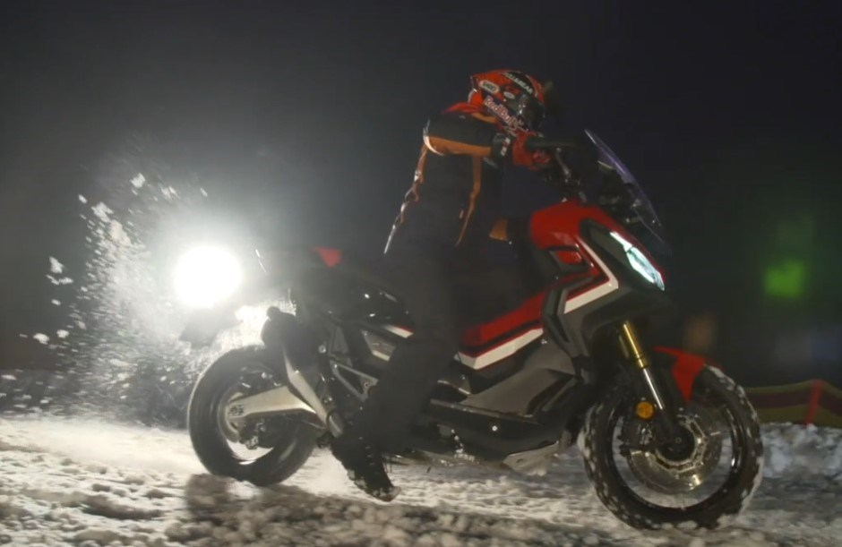 Marc Marquez on the X-ADV