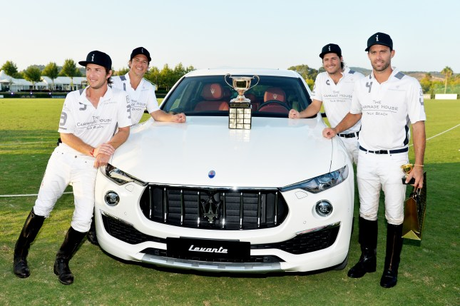 06 Maserati Gold Cup winners Team La Indiana with Maserati Levante MY19 @ 47 International Polo Tournament in Sotogrande