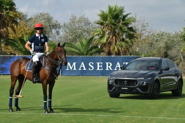Malcolm Borwick & Maserati Levante S MY19 @ 47 International Polo Tournament in Sotogrande (1)