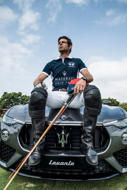 Malcolm Borwick & Maserati Levante S MY19 @ 47 International Polo Tournament in Sotogrande (3)