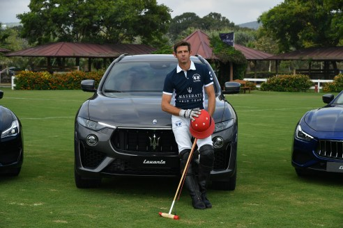Malcolm Borwick & Maserati Levante S MY19 @ 47 International Polo Tournament in Sotogrande (5)