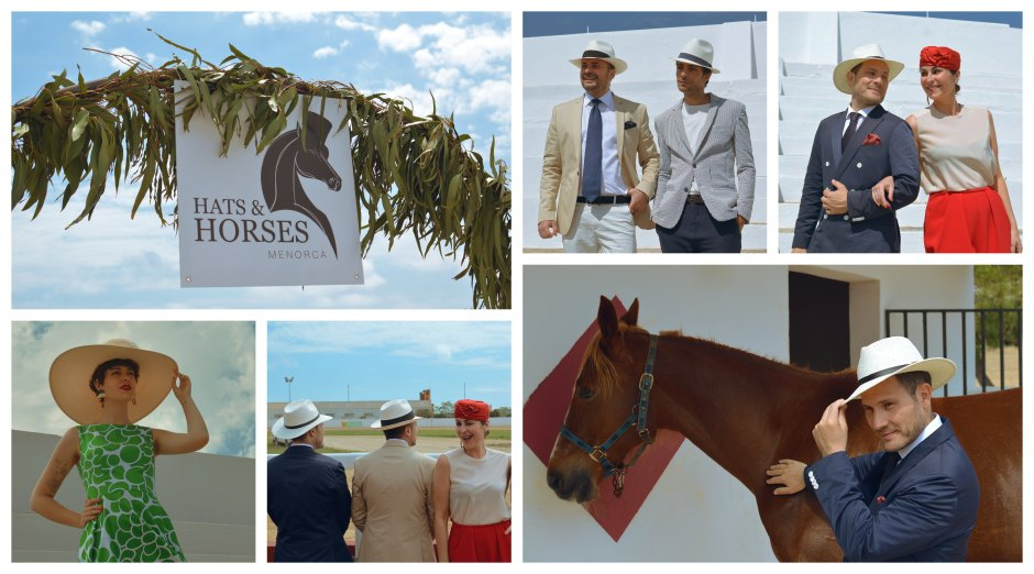 Collage NdP Hats and Horses 2019