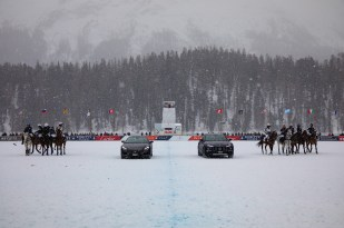 Maserati Parade @ Snow Polo World Cup Final