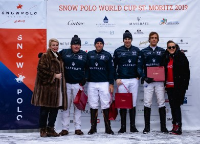 Team Maserati - runner up Snow Polo World Cup St. Moritz - 2019