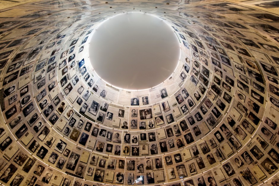 Yad Vashem Holocaust Museum Jerusalem Hall of Names.Noam Chen for the Israeli Ministry of Tourism.