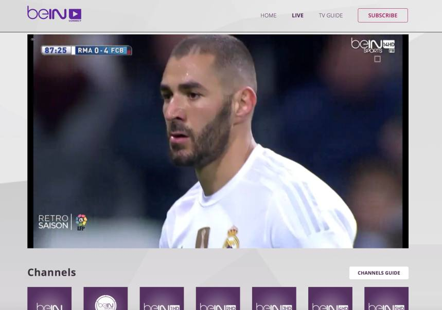 HD14 french channel unblocked beinsportsconnect Error 3222