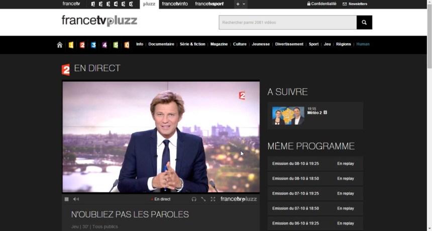 direct France 2 live stream à l'étranger, contourner geo blocage
