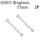 02003 - Universal lever 55mm*2PCS 2