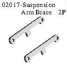 02017 - Arm's strengthen slice*2PCS 7