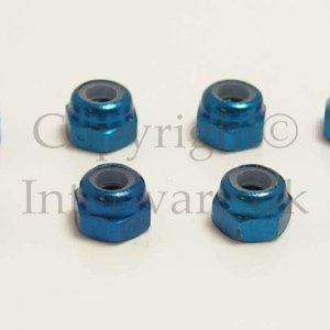02191/102048 - Aluminum Nut M3 8pcs 6