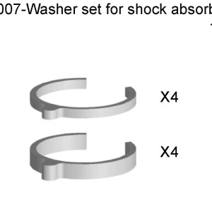 054007 - Washer A For Shock Absorber -Washer B For Shock Absorbe 7