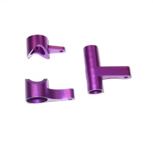 081057 - Alum.Steering Bush/Servo Saver Complete(purple) 4