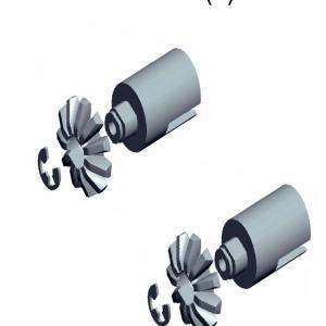 11257/103080 - Diff gearwheel - universal shaft joint - e-buckle 6