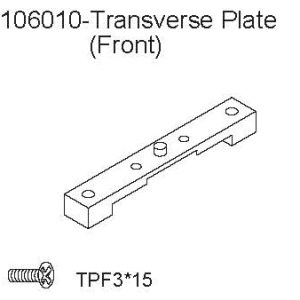 106010 - Transverse Plate (Front) 2