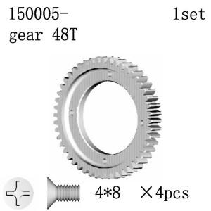150005 - gear 48T     1 set 6