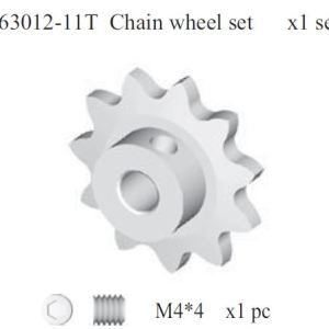 163012 -  11T chain wheel set 7