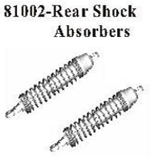 81002 - Metal rear shock set 3