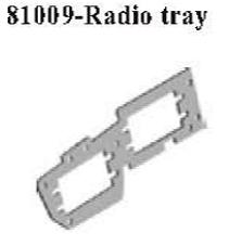 81009 - Rudder plate 6
