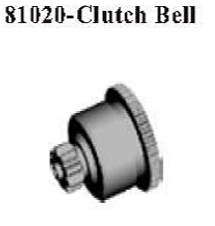 81020 - Clutch gear module 2