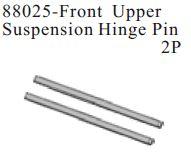 88025 - Front Upper Suspension Hinge Pin 2P 1