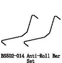 BS502-014 - Anti-Roll Bar Set 5