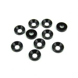 TKR1228 – M4 Countersunk Washers (black anodized, 10pcs) 7