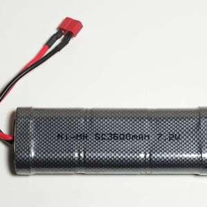 7,2V 3600mAh batteripakke 7