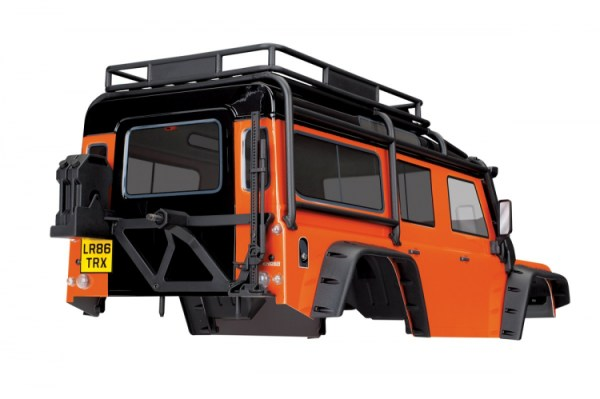Body Land Rover Defender Orange Complete 2
