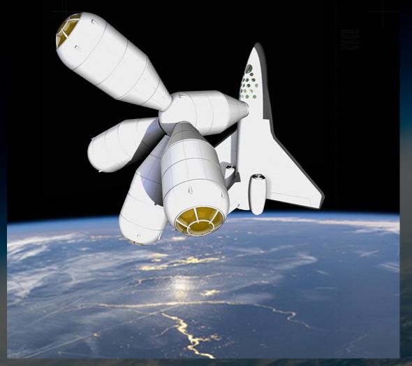 The Galactic Suite Spaceresort