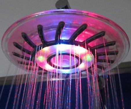Rainbow LED Shower Head INTERWEBS