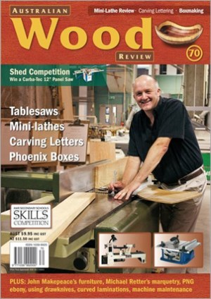 Australian Wood Review Back Issue 70