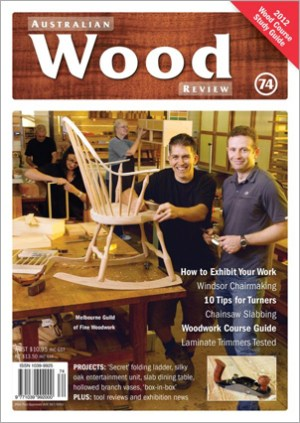 Australian Wood Review Back Issue 74