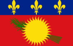 flag of Guadeloupe, source of zouk