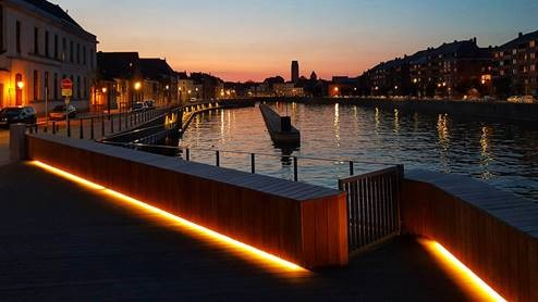 Nouvelle halte nautique à Tournai